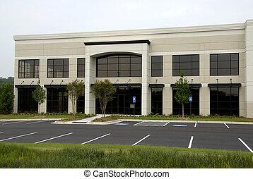 bureau, bâtiment commercial