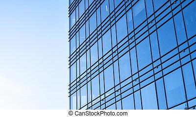 bureau, bâtiment moderne