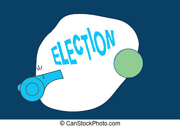 bureau, business, photo, projection, organisé, écriture, election., conceptuel, main, démontrer, texte, vote, choix, politique, formel