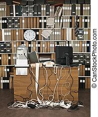 bureau désordre
