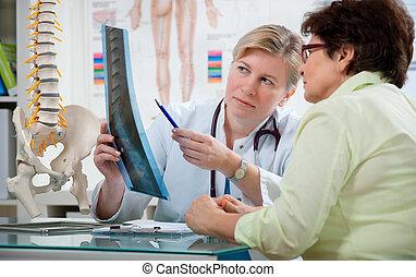 bureau, docteur