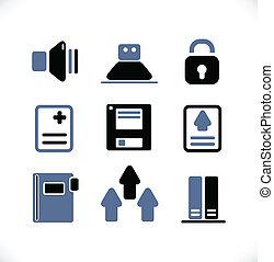 bureau, identité, signes