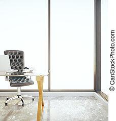 bureau, lieu travail