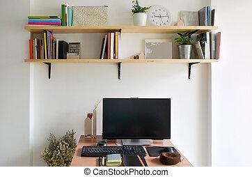 Salle famille espace bureau sous sol maison