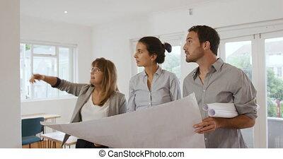 bureau, millennial, fonctionnement, professionnels, créatif