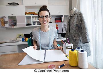 bureau, mode, fonctionnement, concepteur