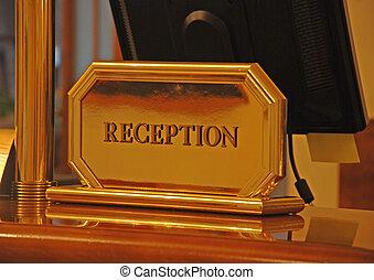 bureau réception