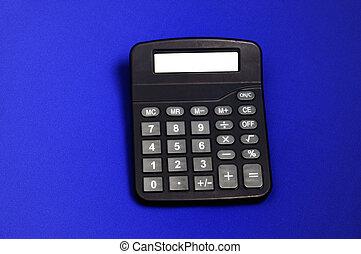 bureau, rekenmachine