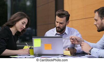 bureau., sérieux, fonctionnement, equipe affaires