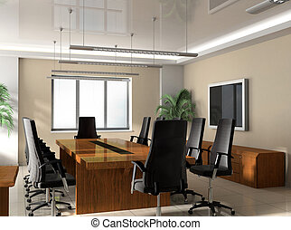 bureau, salle réunion