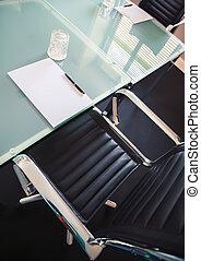 bureau, table, business