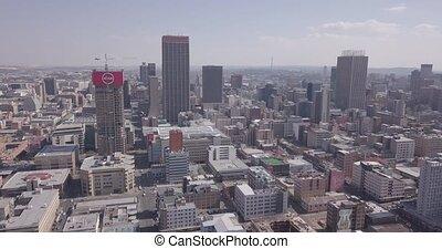 bureaux, bâtiments, afrique sud, en ville, vue, résidentiel...