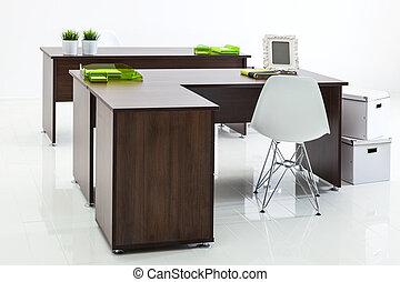 bureaux, et, fauteuils