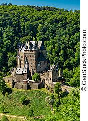 Burg Eltz - beautiful castles of Europe. Germany