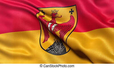 Burgenland state flag loop