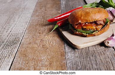 burger, 美味