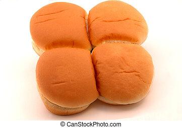 burger buns 2 - four fresh burger buns