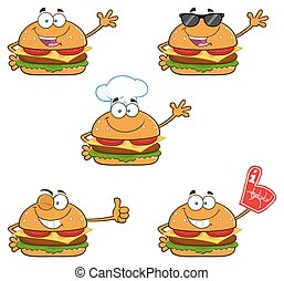 Burger Character Collection - 1