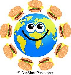 burger globe