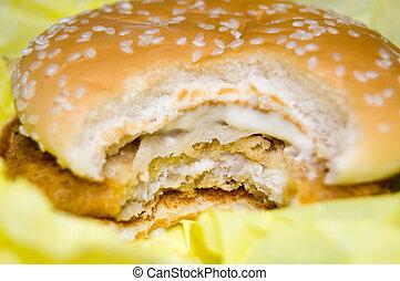 Burger - Hamburger close-up