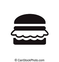 Burger, vector illustration