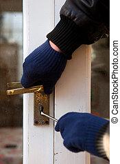 burglary, breaking-in, segurança, theif