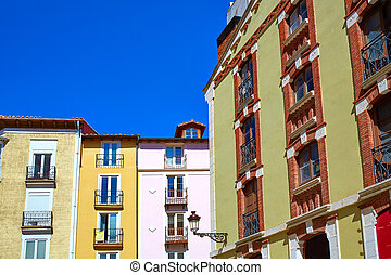 Burgos downtown buildings in Castilla Spain - Burgos...