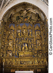 Burgos - Northern Spain - Burgos Cathedral in the city of ...