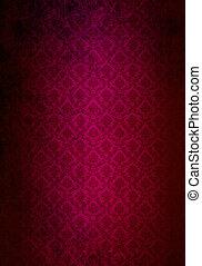 burgundy background