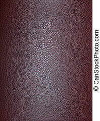 Burgundy Leather - Burgundy leather.