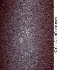 Burgundy Leather - Burgundy leather.