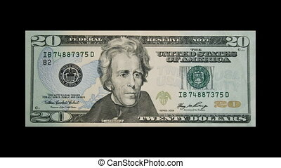 buring, dollar, amérique