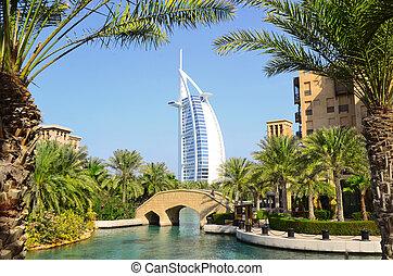 Burj Al Arab in Dubai, UAE - Burj Al Arab and Madinat ...