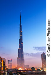 Burj Al Khalifa - Burj Al-Khalifa is the tallest building in...