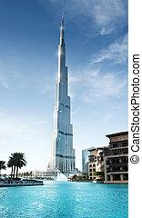 Burj Khalifa, Dubai UAE - 23 Feb 2012