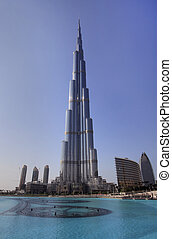 Burj Khalifa. Tallest building in the world.