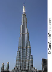 Burj Khalifa tower in dubai - Highest building in the world ...