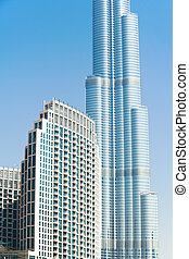 Burj Khalifa,Dubai - Burj khalifa, the highest building in...
