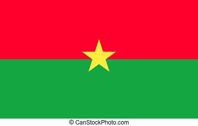 burkina-faso - burkina faso flag