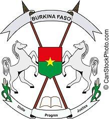 Burkina Faso National Emblem vector