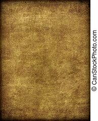 burlap brun, aimer, texture, porté, vieilli