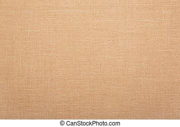 Burlap, natural fabric background