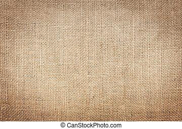 Burlap - Rough burlap texture background
