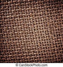burlap, ruwe textuur