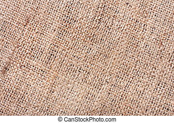 Burlap texture - Close-up of burlap texture