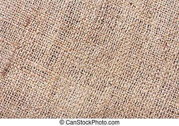 Burlap texture - Close-up of burlap texture