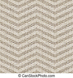 natural burlap texture digital paper with chevron - tileable, seamless pattern