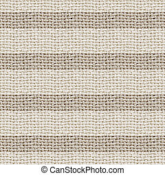 natural burlap texture digital paper with stripes - tileable, seamless pattern