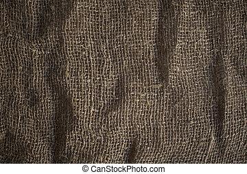 burlap, texture