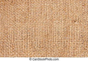 burlap, texture, tissu, fond, ou, hessian